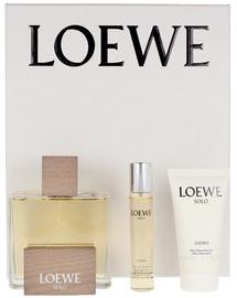 Набор для мужчин Loewe Solo Cedro 3pcs Set EDT
