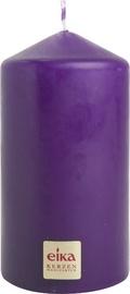 Eika Pillar Candle 11x6cm Purple