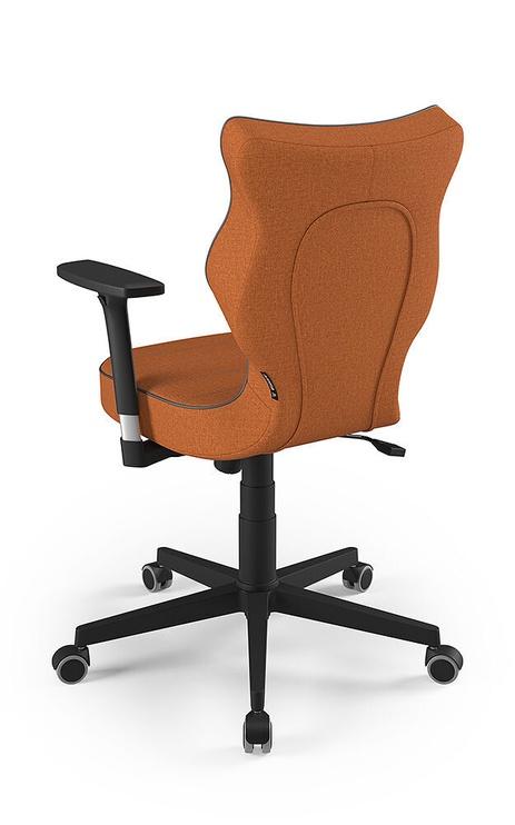 Entelo Nero Black Office Chair FC34 Orange