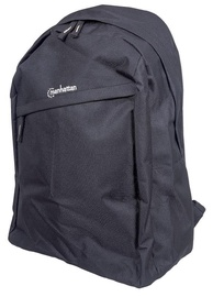 Manhattan Knappack Notebook Computer Backpack Up To 15,6'' Black