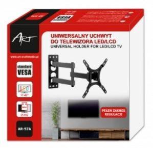 Televizoriaus laikiklis Art Wall Mount For TV 17 - 42'' Black