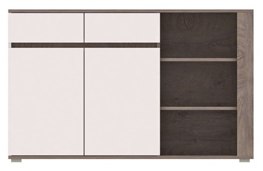 Kumode WIPMEB Ares AS4 Oak/White High Gloss, 150x40x85 cm