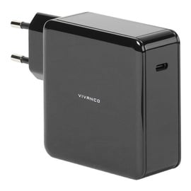 Vivanco USB Type-C Wall Charger 60W + USB Type-C Cable 1.5m Black