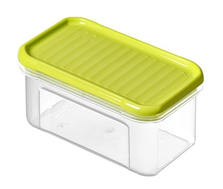 Rotho Domino Food Box 0.5l Lime Green