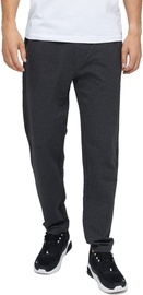 Audimas Stretch Cotton Regular Fit Mens Sweatpants Grey Melange 200/XL