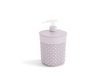 Kis Filo Desert Rose Soap Dispenser 9x9x16cm Pink