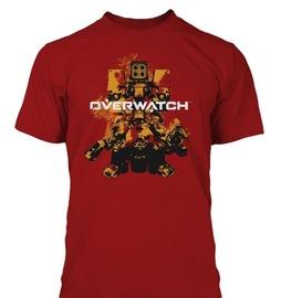 Jinx Overwatch Build Em Up Premium T-Shirt Red L