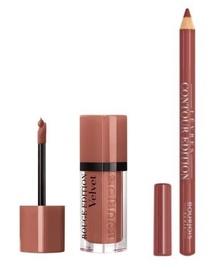 BOURJOIS Paris Rouge Edition Velvet 7.7ml 17 + Contour Lip Liner 1.14g 11