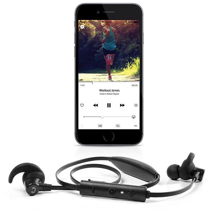 Ausinės Fresh 'n Rebel Lace Bluetooth Earbuds Ink