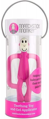 Matchstick Monkey Teething Toy 3m+ Pink