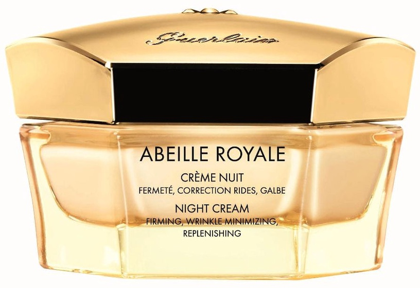 Veido kremas Guerlain Abeille Royale Firming Night Cream, 50 ml