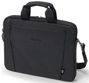 Сумка для ноутбука Dicota Slim D31308-RPET, черный, 1-15.6″