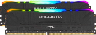 Crucial Ballistix RGB Black 16GB 3600MHz CL16 DDR4 KIT OF 2 BL2K8G36C16U4BL