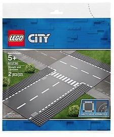 LEGO City Supplementary Straight And T-junction 60236