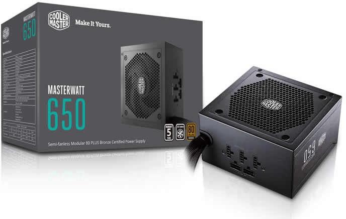 Cooler Master MasterWatt 650W MPX-6501-AMAAB-EU
