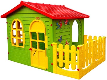 Mochtoys Garden House With Fence 10498