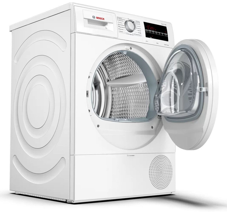 Bosch Serie 6 WTR87TW0BY Dryer White