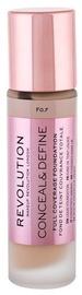 Makeup Revolution London Conceal & Define Foundation 23ml F0.7