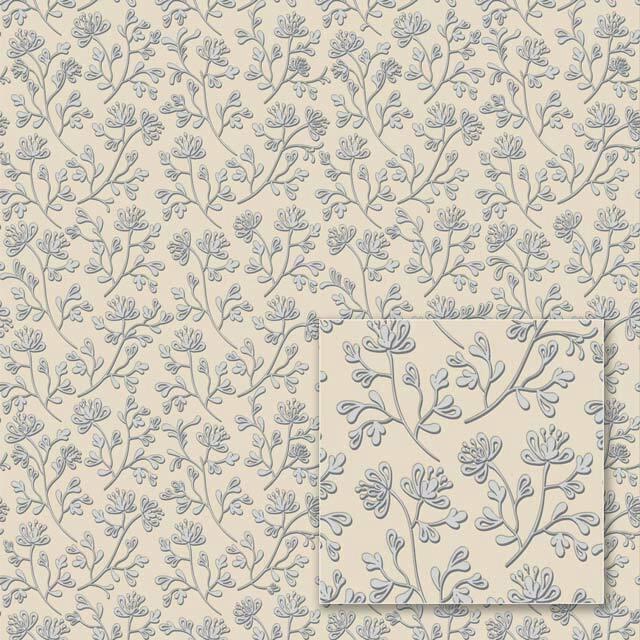 Flizelino pagrindo tapetas Sintra 352274 Mixing, kreminis su smulkiomis gėlėmis
