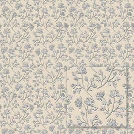 Flizelino pagrindo tapetas Sintra 352274 Mixing, baltas su smulkiomis gėlėmis
