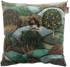 Декоративная подушка Home4you Holly, зеленый, 450x450 мм