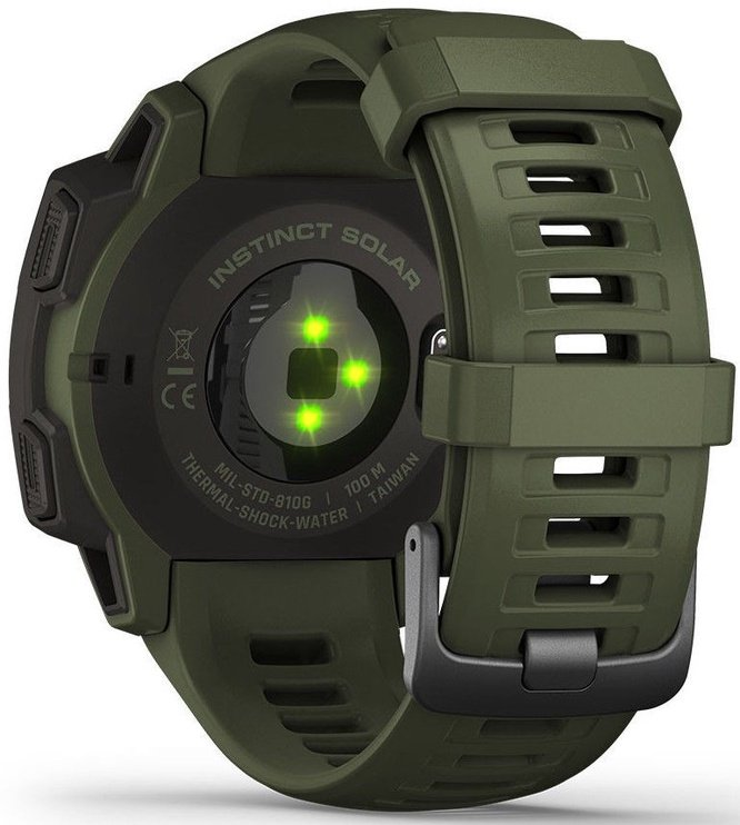 Garmin Instinct Solar Edition Tactical Moss