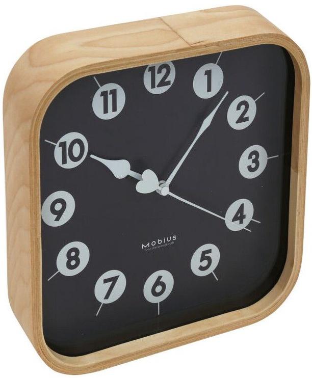 Platinet Morning Wall Clock 42987 Black