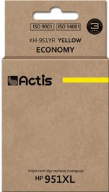 Actis Cartridge KH-951YR For HP 25ml Yellow