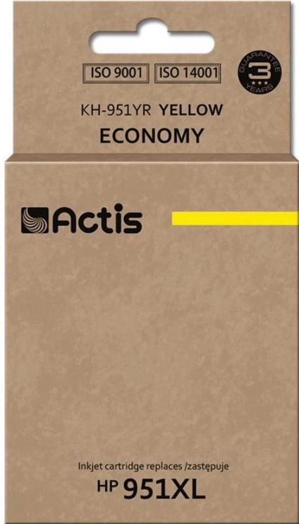 Кассета для принтера Actis Cartridge KH-951YR For HP 25ml Yellow