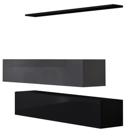 ASM Switch SB II Hanging Cabinet/Shelf Set Black/Graphite
