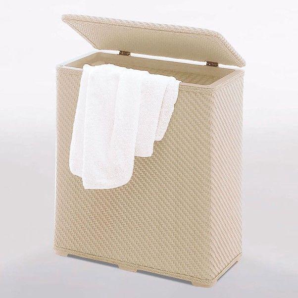 Gedy Ambrogio Laundry Basket Beige 2038-03