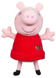 Pliušinis žaislas Character Toys Peppa Pig Red Dress Peppa PEP07356, raudonas/rožinis, 20 cm