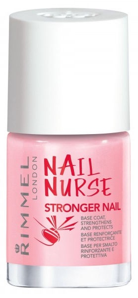 Rimmel London Nail Nurse Stronger Nail Base Coat 12ml