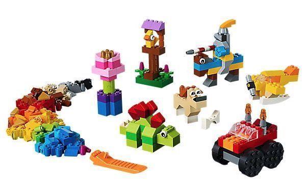 Конструктор LEGO Classic Базовый набор кубиков 11002, 300 шт.