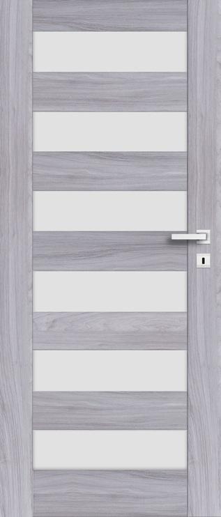 """Durų varčia """"Erie 01"""" pilko ąžuolo, 744x2035 kairinė"""