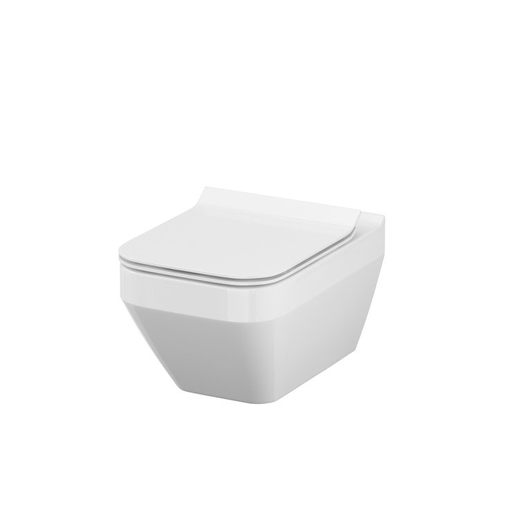 Sienas tualete Cersanit Crea K114-016, 520x350 mm