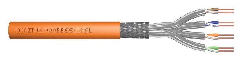 Digitus Cat.7 S/FTP Cable 100m Orange