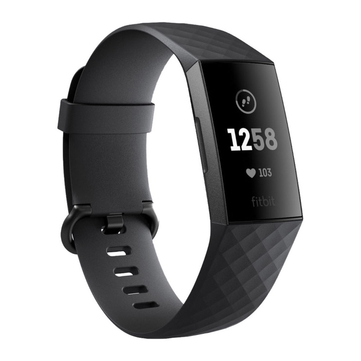 Nutikell FITBIT CHARGE 3 BLACK