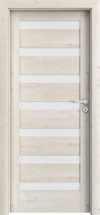 Porta Doors Porta Verte D7 Door Left 644X2030X40cm Skand Oak