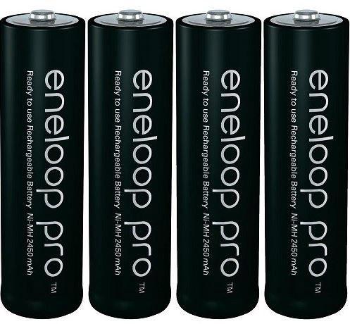 Aku Panasonic Batteries Eneloop AA 4pcs + Rechargeable Box
