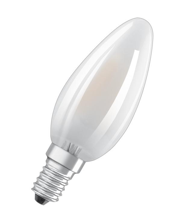 LAMPA LED B35 4W E14 2700K 470LM MAT