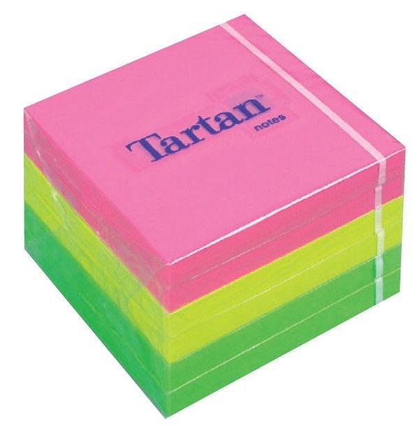 3M Tartan Sticky Notes 7676-N 400pcs