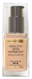 Max Factor Healthy Skin Harmony Miracle Foundation SPF20 30ml 40
