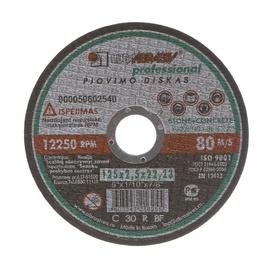 Pjovimo diskas Luga Abraziv, 125 x 2,5 x 22,23 mm