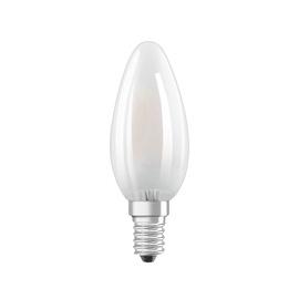 SPULDZE LED GLASS B40 4W E14 WW FR ND 3V (OSRAM)
