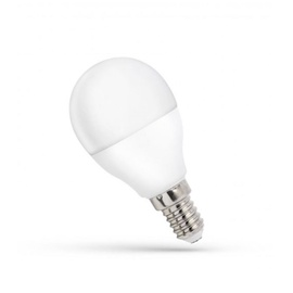 LED lempa Spectrum P45, 8W, E14, 3000K, 620lm