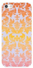 Muvit Flowers Cover For Apple iPhone 5/5s/SE Orange