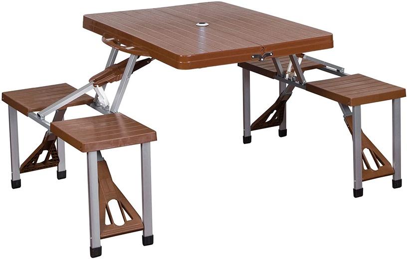 Sulankstomas turistinis stalas, DN-001