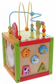 EcoToys Educational Wooden Cube 5-In-1 1004