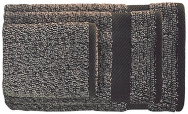 Ardenza Melange Terry Towels Set 3pcs Brown